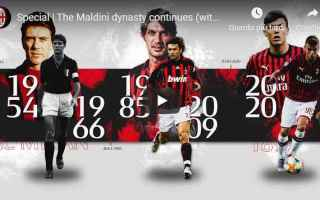 Serie A: milan maldini video calcio sport