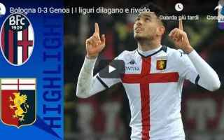 bologna genoa video gol calcio
