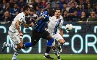 Serie A: lazio-inter  formazioni ufficiali