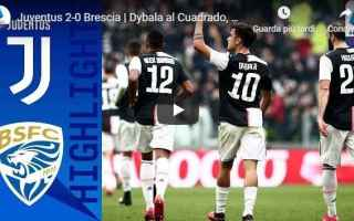 juventus brescia video calcio gol