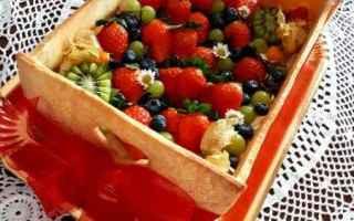 Una cassetta di frutta. Il tormentone di questa stagione, la torta cassetta delicata e davvero di be