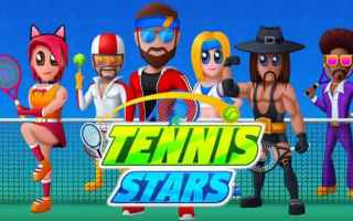 Mobile games: tennis sport arcade android iphone gioco
