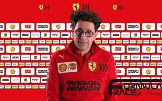 Formula 1: f1  f1testing  ferrari  binotto  das
