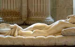 Cultura: arte  ermafrodito  ermes  mitologia