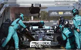 Formula 1: mercedes  bottas  f1testing  f1  f12020