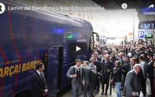 messi barcellona napoli video calcio