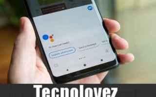 Google: google assistant aggiornamento