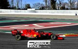 Formula 1: ferrari  f1testing  f1  vettel  leclerc
