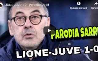 Calcio: sarri juve juventus gli autogol video