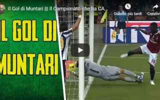 Serie A: muntari gol video calcio storia