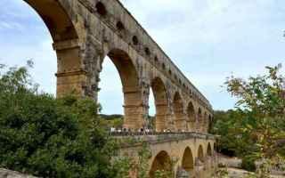 Viaggi: pont du gard provenza acquedotto romano