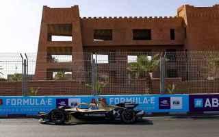Alla partenza dellePrix di Marrakech, il poleman Antonio Felix da Costa ha unottima partenza, con Gu