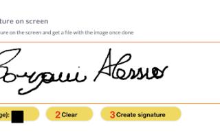 Blog: creare firma gratis inserire