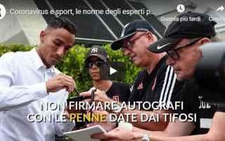 Serie A: coronavirus calcio video calciatori