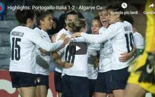 portogallo italia calcio video sport