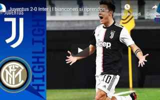Serie A: juventus inter video calcio gol