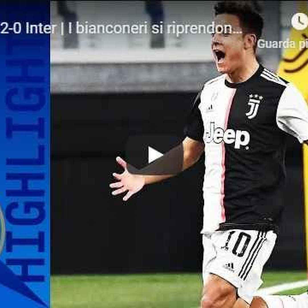 juventus inter video calcio gol