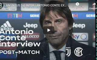conte video calcio inter juventus