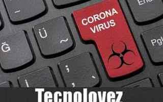Internet: email truffa coronavirus