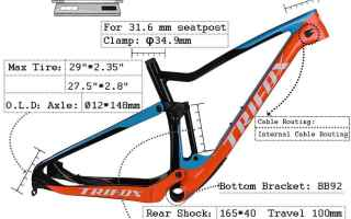 Ciclismo: carbon fiber mtb frame  carbon frame