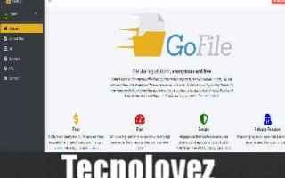 gofile come condividere file anonimi