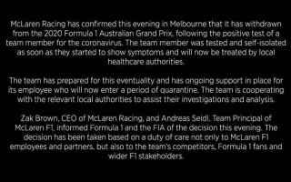 Formula 1: mclaren  ausgp  f1  formula 1