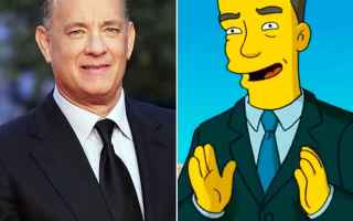 Salute: tom hanks  simpson  coronavirus