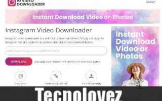Instagram: instagram instagram video downloader