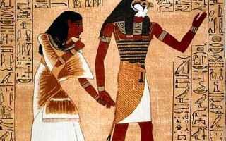 Cultura: egitto  falco  horus  iside  mitologia