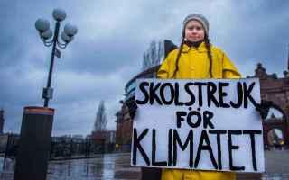 Tutti si mobilitano quando si parla di Cambiamento Climatico, tutti ad elogiare l'ingenua forza di