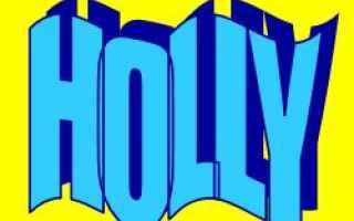 Storia: holly  significato  etimologia