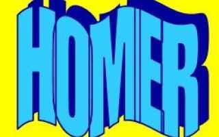 Storia: homer  significato  etimologia
