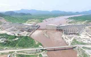 Nell'aprile del 2011 l'Etiopia inizia la costruzione della diga Grand Renaissance sul Nilo Azzur