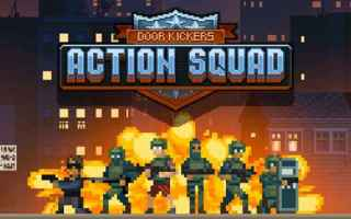 Mobile games: swat iphone arcade sparatutto pixel art
