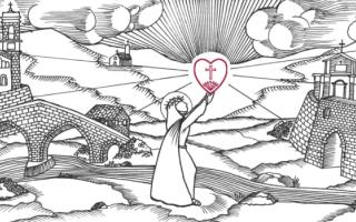 """""""In cammino con santa Veronica Giuliani"""" è un pellegrinaggio a piedi che ripercorre il viaggio"""