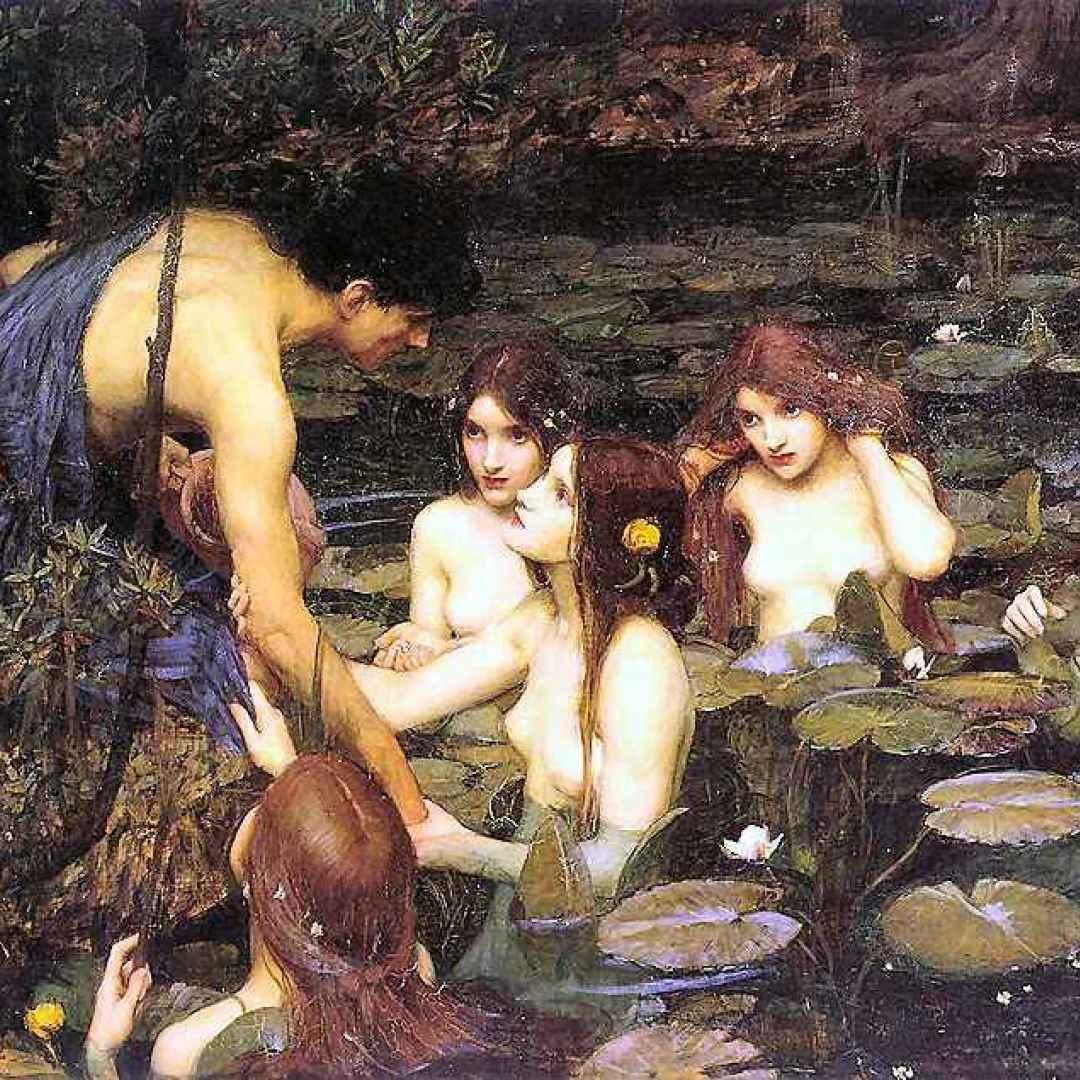 leggende  menta  mitologia  naiadi