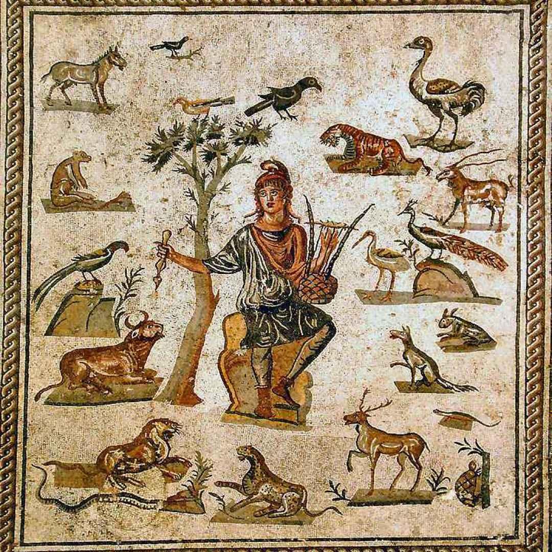 mitologia  orfeo  caronte  euridice