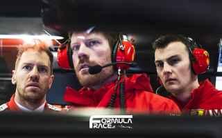 Formula 1: binotto  ferrari  leclerc  vettel  f1