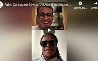 Calcio: cannavaro davids instagram italia video