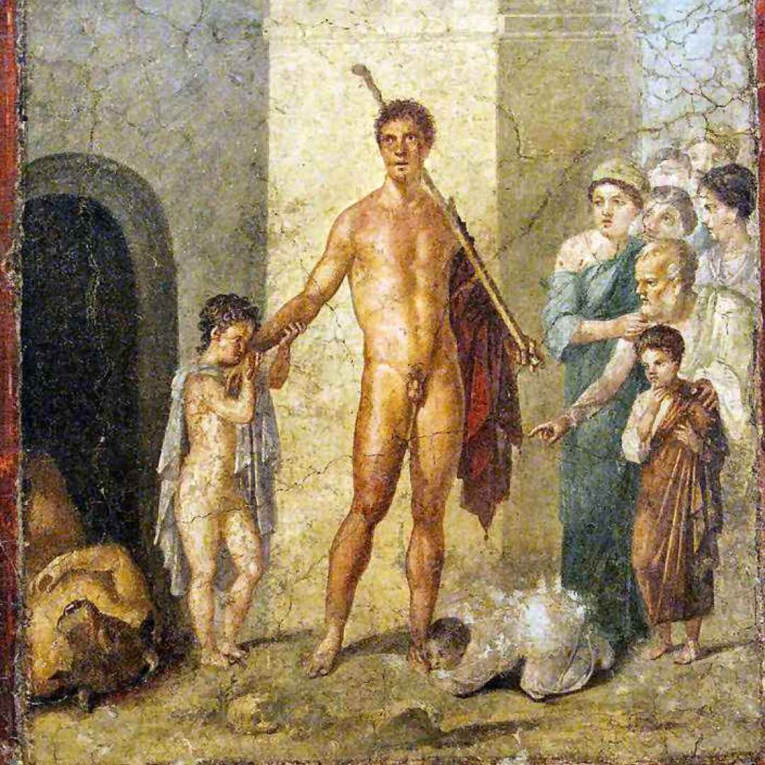 teseo  minotauro  mitologia  poseidone