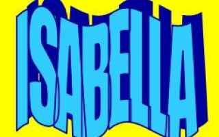 Storia: isabella  nome  etimologia