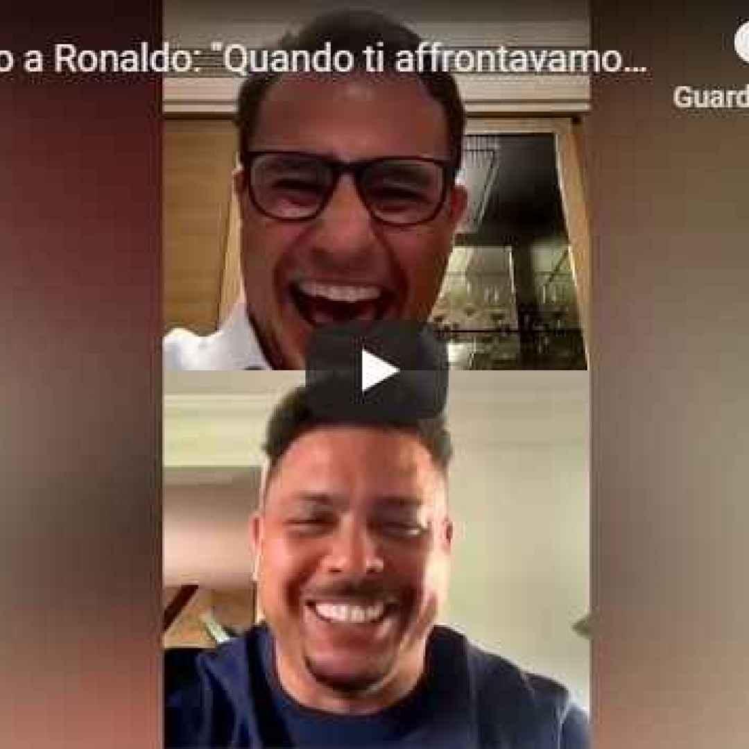 cannavaro ronaldo instagram italia video