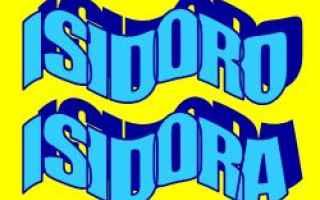 Storia: isidoro  nome  etimologia  significato