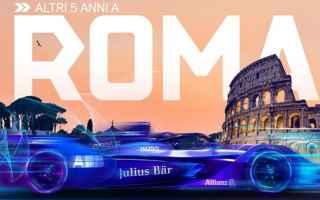 Motori: formula e  roma  romeeprix  fia