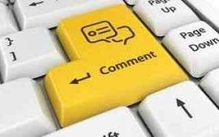 Blog: blog  commenti