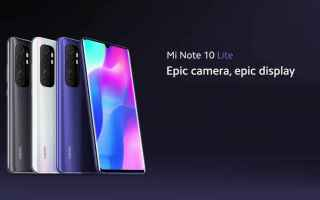 Cellulari: xiaomi mi note 10 lite  xiaomi  techie