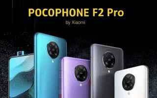 pocophone f2 pro  redmi k30 pro  xiaomi