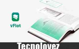 vflat app per scansionare libri