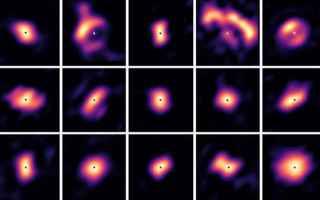 Astronomia: dischi protoplanetari  vlt  pionier