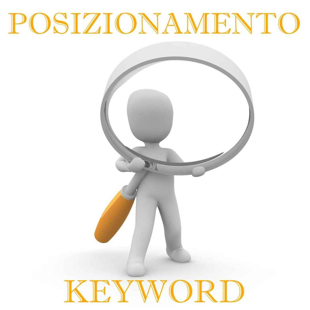 posizionamento keyword  parole chiave